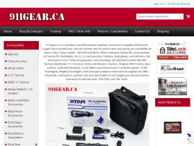 911gear.ca Promo Codes